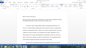 BUS325 Week Two Discussion | Documents and Forms | Research Papers