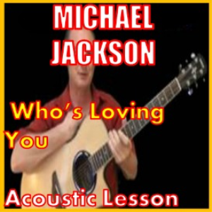learn to play who's loving you by michael jackson