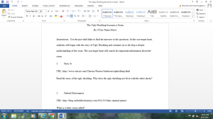 Scavenger Hunt | Documents and Forms | Research Papers