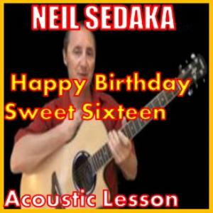 learn to play happy birthday sweet sixteen by neil sedaka