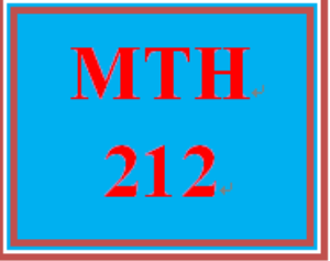 MTH 212 Week 1 MyMathLab® Week 1 Checkpoint | eBooks | Education