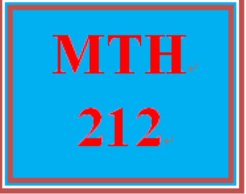 First Additional product image for - MTH 212 Week 5 MyMathLab® Final Examination