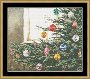 Christmas | Crafting | Cross-Stitch | Wall Hangings