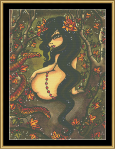 Lilith Ii | Crafting | Cross-Stitch | Wall Hangings