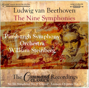 beethoven: 9 symphonies set iii: leonore no. 3/sym. no. 9 - pso/steinberg