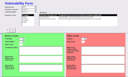 First Additional product image for - Buttress Business Continuity Software (Acces Database)