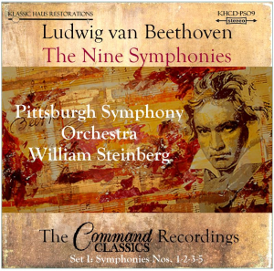 beethoven: 9 symphonies set i: symphonies nos. 1-2-3-5 - pso/steinberg