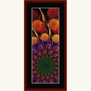 Fractal 630.1 Bookmark cross stitch pattern by Cross Stitch Collectibles | Crafting | Cross-Stitch | Wall Hangings
