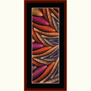 fractal 634 bookmark cross stitch pattern by cross stitch collectibles