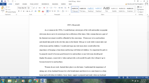 Unit VI Essay | Documents and Forms | Research Papers