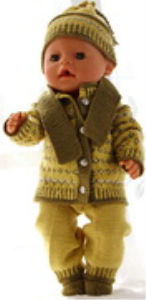 DollKnittingPatterns 0177D RITA - Trui, Muts, Broek en Sokjes-(Nederlands) | Crafting | Knitting | Other