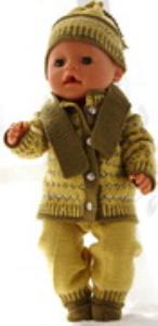 DollKnittingPatterns 0177D RITA - Veste, chapeau, pantalon, écharpe et chaussettes-(Francais) | Crafting | Knitting | Other