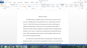 Elements of Fiction   Documents and Forms   Research Papers