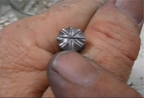 Third Additional product image for - Steel Stamps, Making Your Own, taught by Don Norris, Silversmithing for jewelry making.