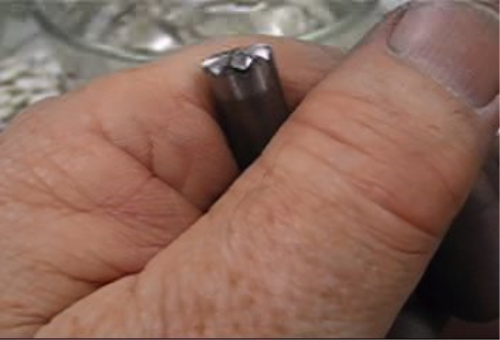 Fourth Additional product image for - Steel Stamps, Making Your Own, taught by Don Norris, Silversmithing for jewelry making.