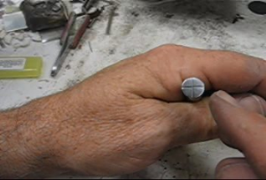 steel stamps, making your own, taught by don norris, silversmithing for jewelry making.