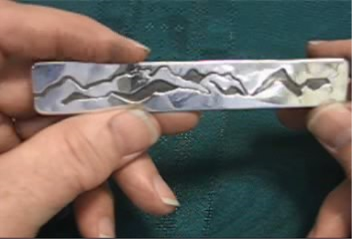 Third Additional product image for - Overlay Piece taught by Don Norris, Silversmithing for jewelry making.