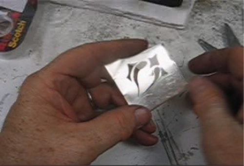 Third Additional product image for - Pierce and Cut Project taught by Don Norris, Silversmithing for jewelry making.