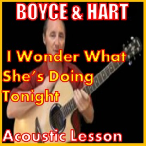 Learn to play I Wonder What She's Doing Tonight by Boyce And Hart | Movies and Videos | Educational