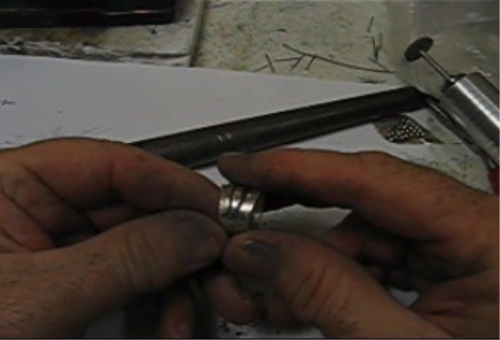 Fourth Additional product image for - Ring Bands taught by Don Norris, Silversmithing for jewelry making.