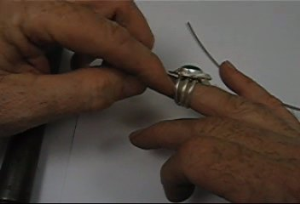 ring bands taught by don norris, silversmithing for jewelry making.