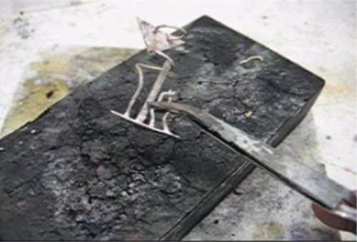 Fourth Additional product image for - Silver Soldering, Basics taught by Don Norris, Silversmithing for jewelry making.
