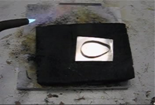 Second Additional product image for - Soldering Down Bezels, Stepped Bezel taught by Don Norris, Silversmithingfor jewelry making.