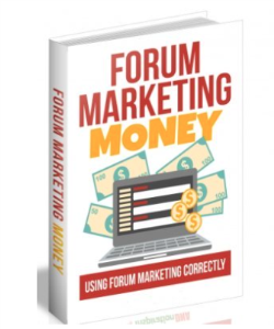 Forum Marketing Money | eBooks | Business and Money