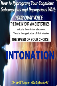 intonation - the tone in your voice determines the speed of your choice