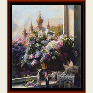 Floral Still Life - Custom cross stitch pattern by Cross Stitch Collectibles | Crafting | Cross-Stitch | Wall Hangings