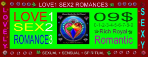 Love1-Sex2-Romance3_$09 | Photos and Images | Digital Art