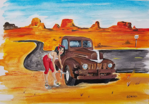 Route 66 | Photos and Images | Digital Art