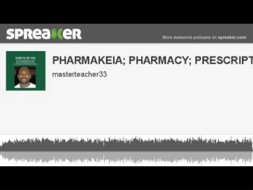 First Additional product image for - Pharmakeia; Pharmacy; Prescriptions & The Diety Of Sorcery