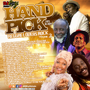 dj roy hand pick 70's & 80's reggae lovers rock mix vol.2