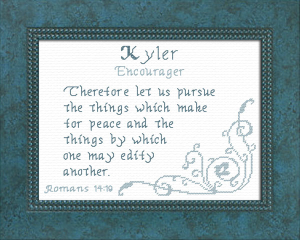 Name Blessings - Kyler | Crafting | Cross-Stitch | Other