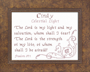Name Blessings - Cindy 3 | Crafting | Cross-Stitch | Religious