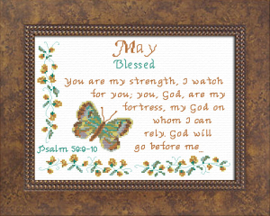 Name Blessings - May | Crafting | Cross-Stitch | Religious