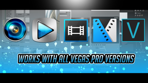 First Additional product image for - Sony Vegas Mega Transitions & Effects Pack By Pro Edits