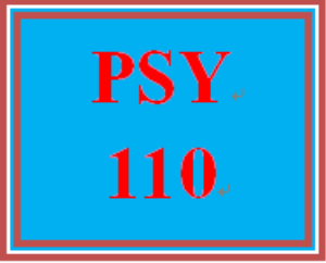 PSY 110 Week 3 Applying Positive Habits | eBooks | Education
