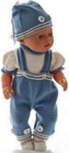 DollKnittingPatterns 0178D TONNY- Bloesje, Broek, Muts en Schoentjes-(Nederlands) | Crafting | Knitting | Other