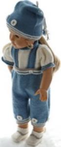 dollknittingpatterns 0178d tonny - chemise, pantalon, chapeau et chaussettes-(francais)