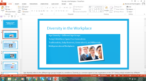 Diversity In The Workplace | Documents and Forms | Research Papers