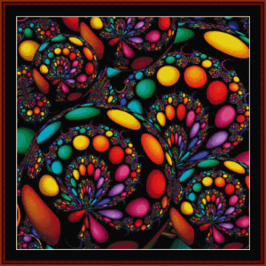 Fractal 635 cross stitch pattern by Cross Stitch Collectibles | Crafting | Cross-Stitch | Other