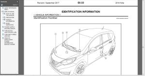 2018 Nissan Versa Note E12  Service Repair Manual & Wiring | eBooks | Technical