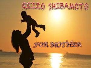 Reizo Shibamoto For Mother | Music | Classical