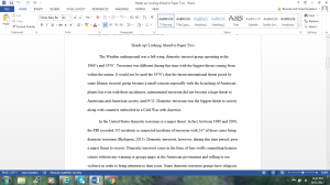 heads-up! looking ahead to paper two