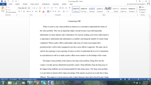 Criminology DB5 | Documents and Forms | Research Papers