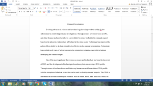 Crjs455 Db1 | Documents and Forms | Research Papers