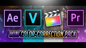 mini color-correction pack by pro edits!