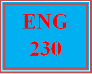 eng 230 week 1 subjects and verbs